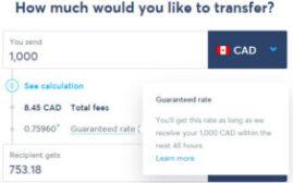 如何利用TransferWise的48小时汇率保证,来获取最好的转款汇率