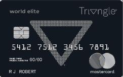 加国信用卡 - Triangle World Elite Mastercard介绍