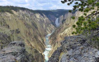 黄石之旅 - 第四天,海登山谷,黄石大峡谷,猛犸热泉