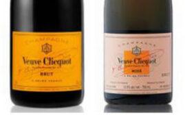 对比试酒 - 凯歌香槟Veuve Clicquot Brut vs 凯歌粉红香槟Veuve Clicquot Rose