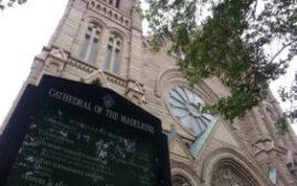 黄石之旅 - 美轮美奂的玛德琳天主教堂CathedraloftheMadeleine