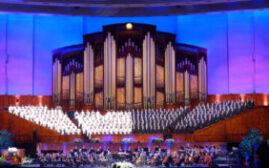 黄石之旅 - 美妙的天籁美声 摩门大会堂合唱团  Mormon Tabernacle Choir