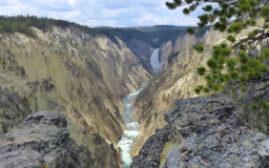 黄石之旅 - 艺术家之地Artist Point,Uncle Tom's Trail瀑布和黄石大峡谷